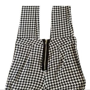 90's Houndstooth Leggings Size Small